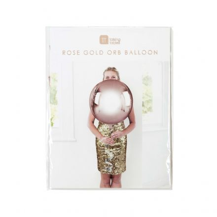 Rose Gold Giant Orb Balloon